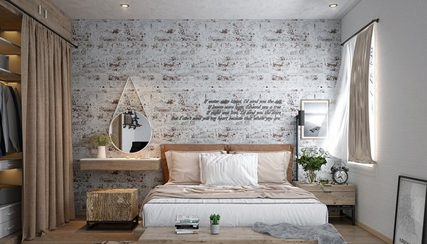 Phong cách thiết kế nội thất vingate yêu thích sử dụng những tông màu sáng nhẹ nhàng