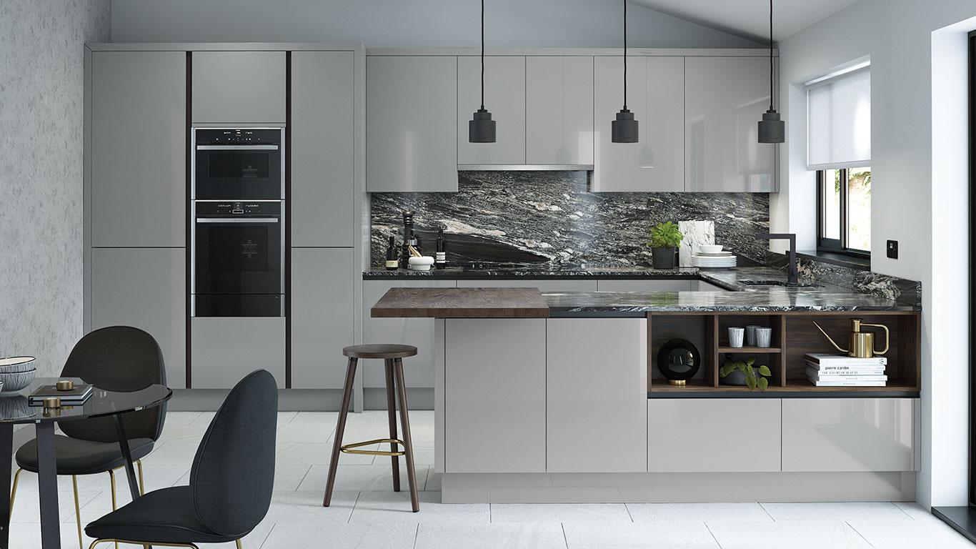 Thiết kế nội thất nhà bếp hiện đại
