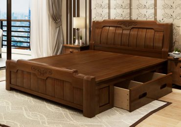 Mẹo chọn giường gỗ tự nhiên