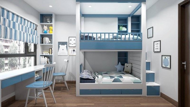 Bí quyết thiết kế nội thất phòng ngủ bé trai