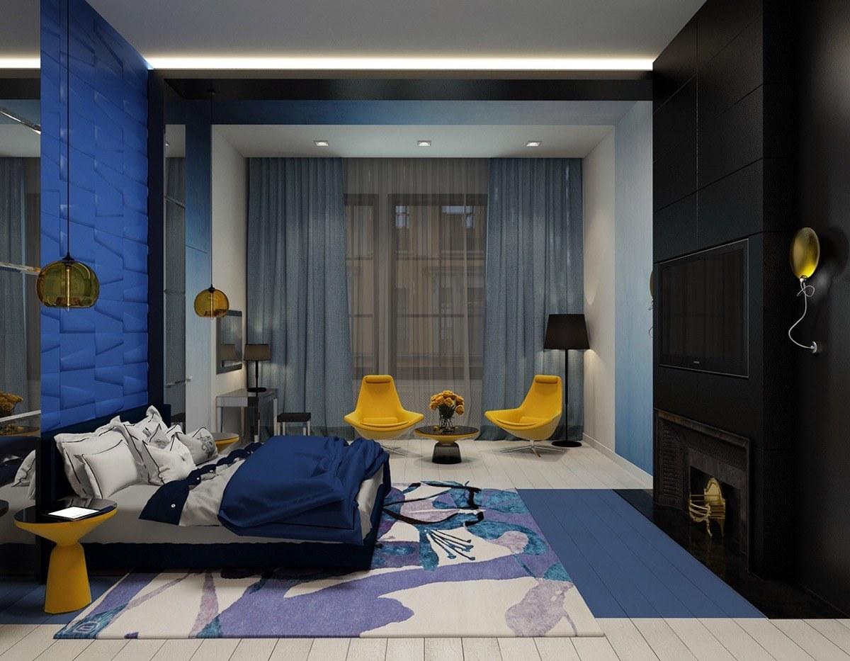 Nội thất phòng ngủ hiện đại sang trọng
