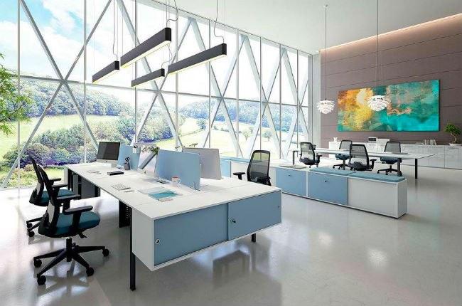 Đame bảo nguồn ánh sáng tự nhiên cho văn phòng