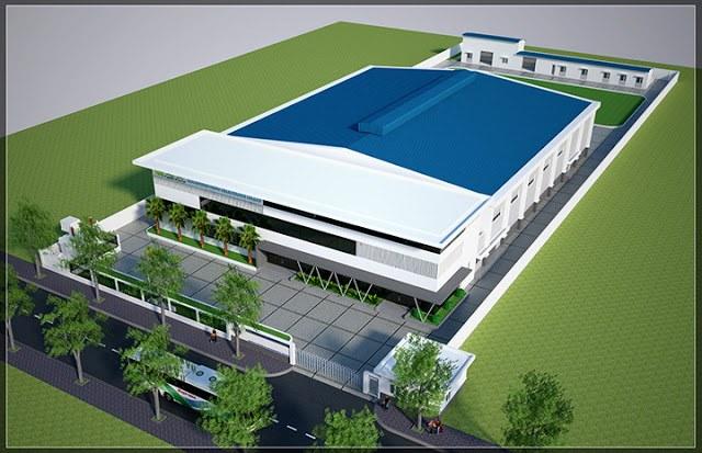 Thiết kế thi công nhà xưởng tại Bắc Ninh