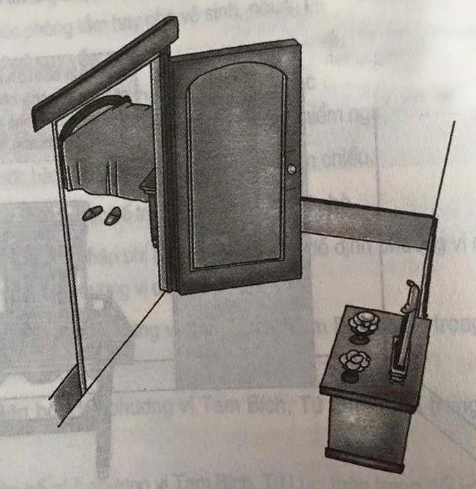 Bàn thờ xung với cửa là như thế nào
