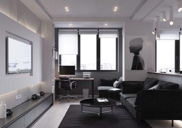 Bố trí nội thất căn hộ 40m2