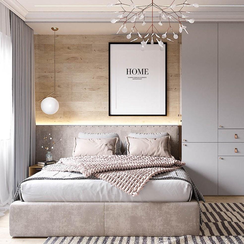 Decor phòng ngủ bằng đèn trang trí