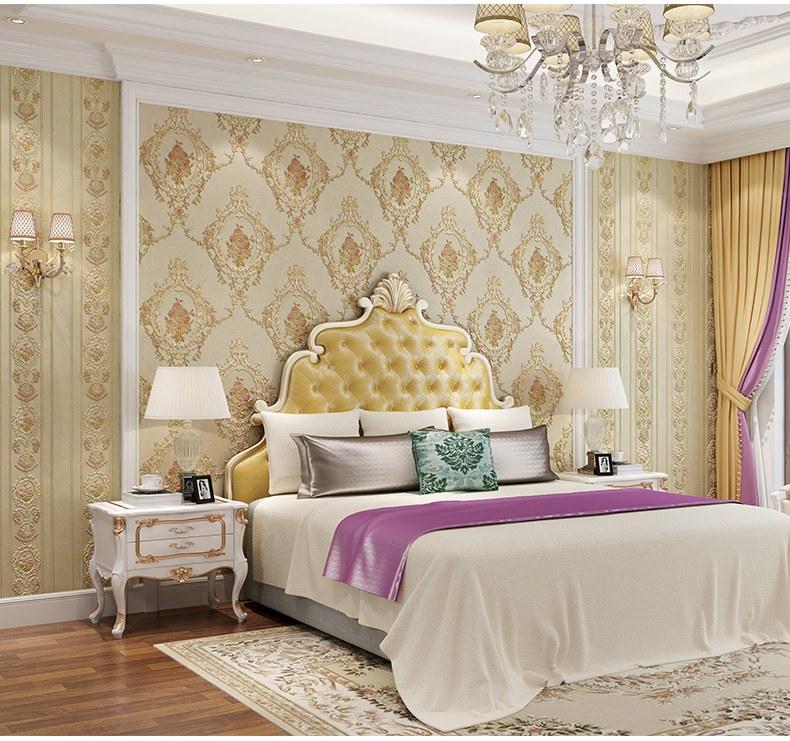 Decor phòng ngủ bằng giấy dán tường
