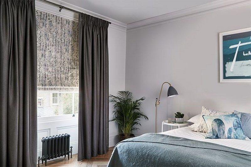 Decor phòng ngủ bằng rèm cửa