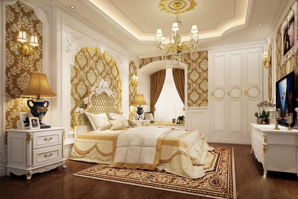 Decor phòng ngủ bằng thảm trải sàn