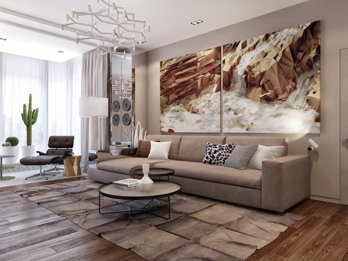Mẫu decor phòng khách đẹp