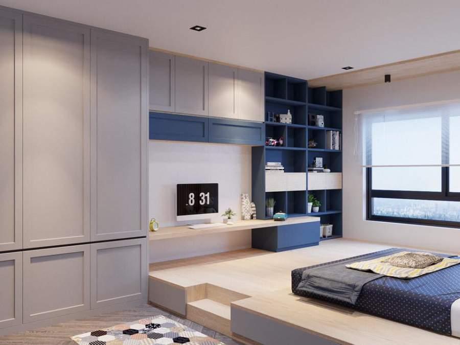 Mẫu nội thất căn hộ chung cư 3 phòng ngủ