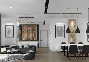 Mẫu thiết kế nội thất chung cư 46m2