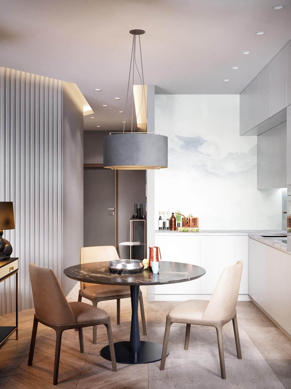 Mẫu thiết kế nội thất chung cư 50m2