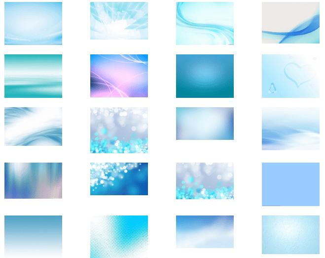 Nội thất màu xanh dương nhạt