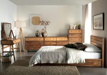 Mẫu nội thất phòng ngủ bằng gỗ tự nhiên
