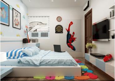 Nội thất phòng ngủ con trai