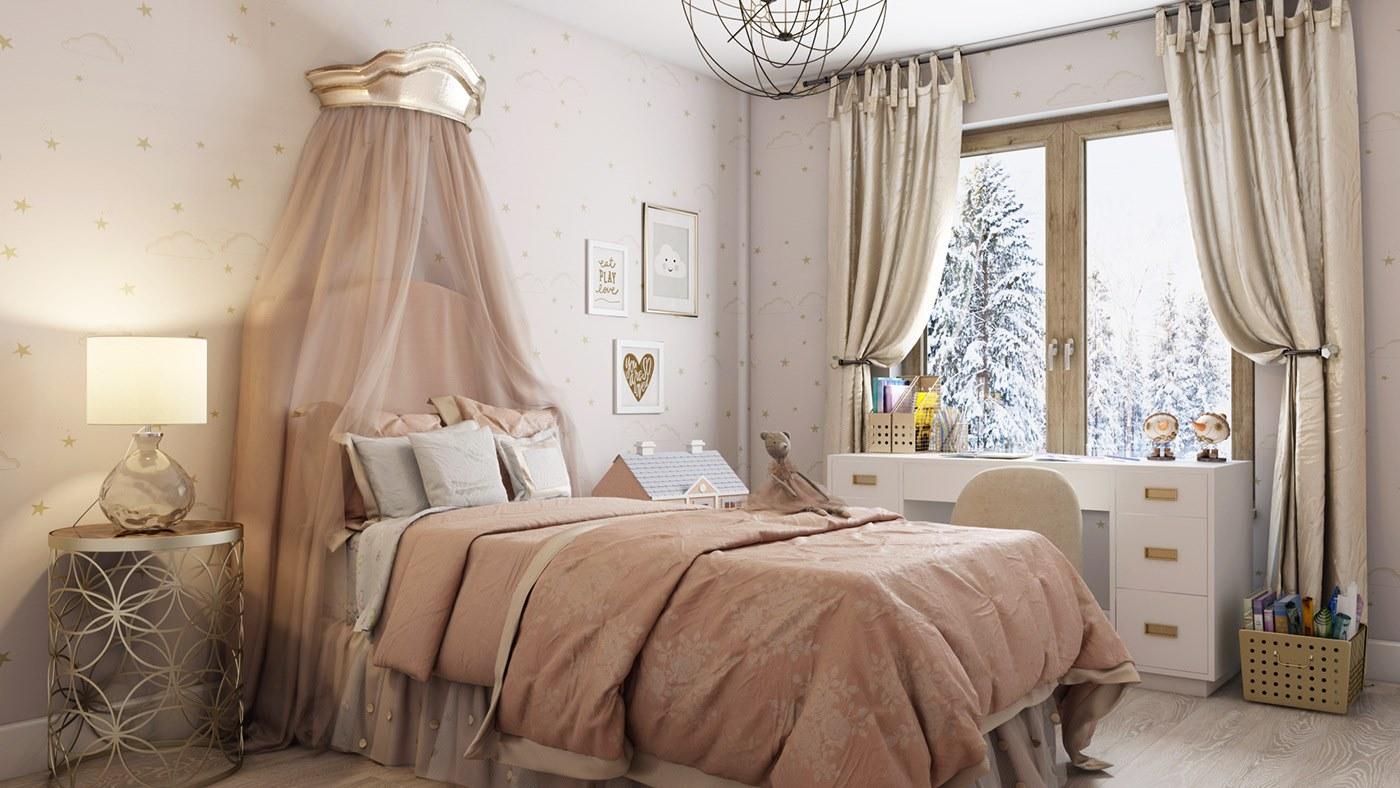 thi công thiết kế phòng ngủ