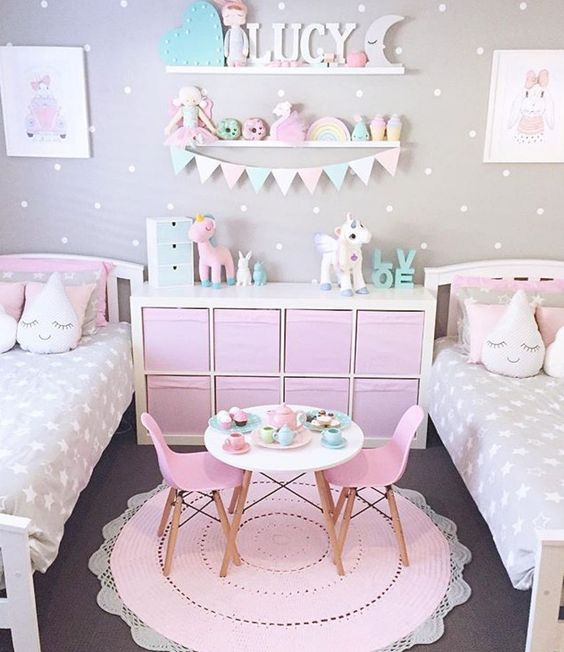 nội thất phòng ngủ đẹp cho bé gái