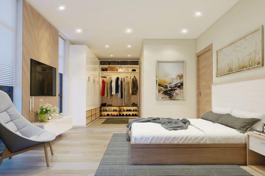 nội thất phòng ngủ kiểu Hàn Quốc