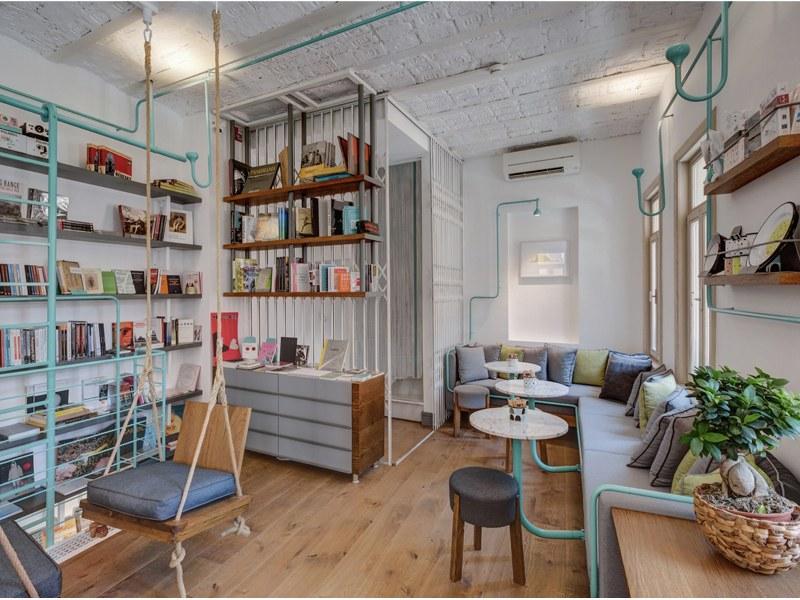 nội thất quán cafe nhỏ