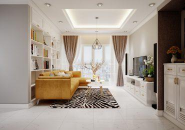 Mẫu thiết kế nội thất chung cư 105m2