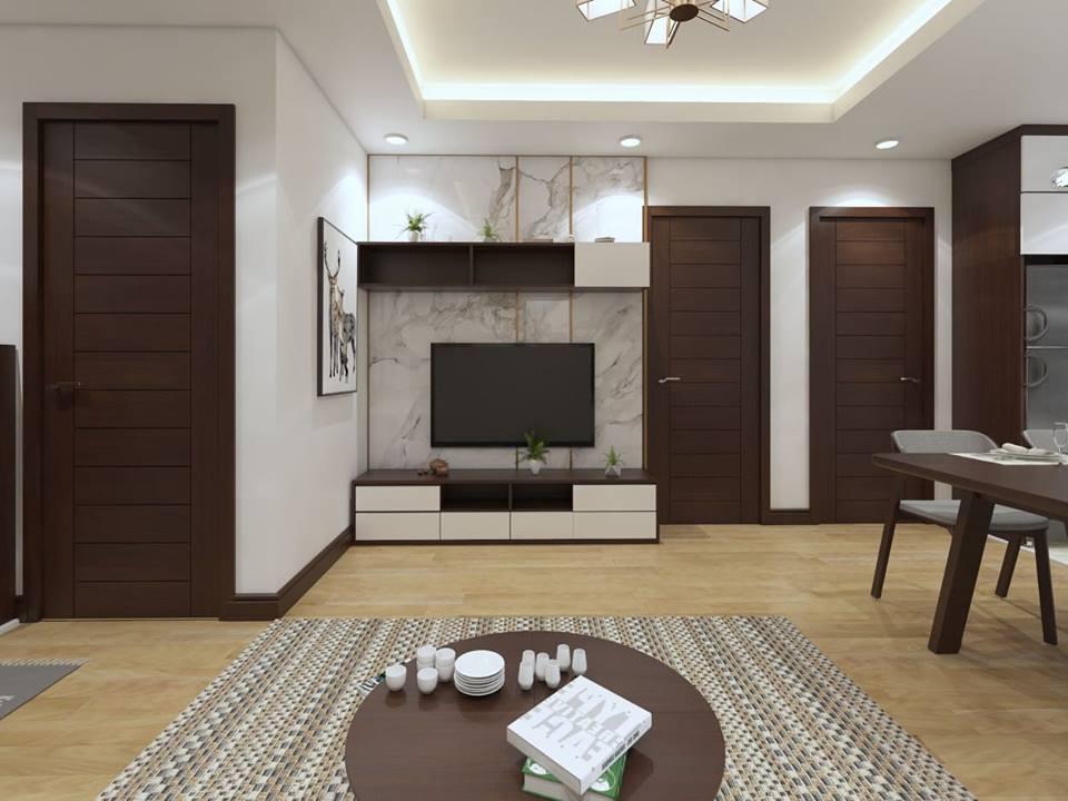Mẫu nội thất chung cư 64m2