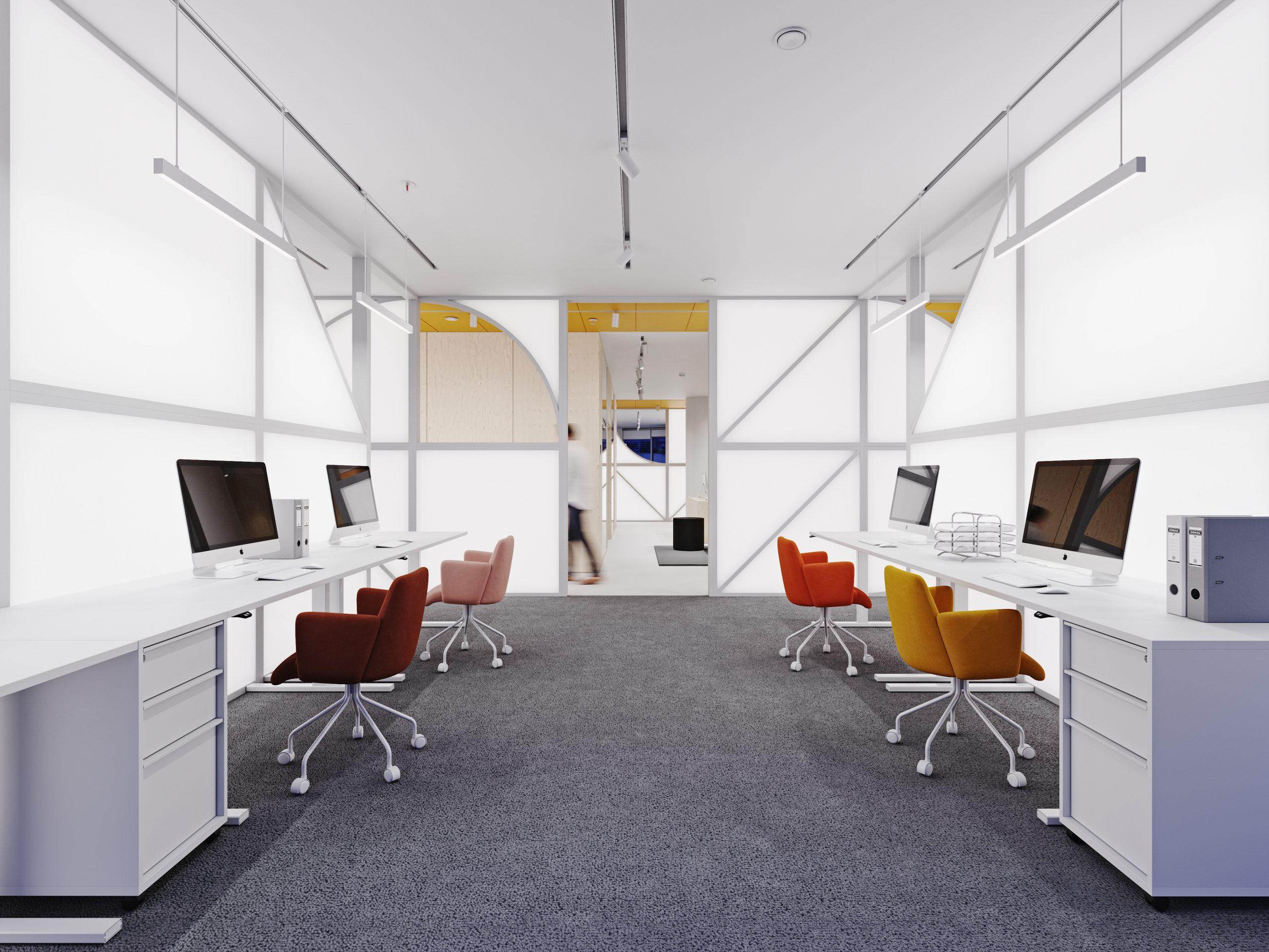 Màu sắc giác giúp không gian căn phòng rộng rãi hơn