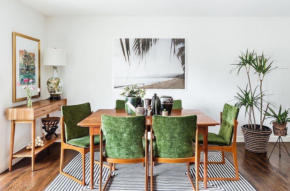 Một vài chậu cây xanh sẽ khiến căn phòng trở nên trong lành hơn
