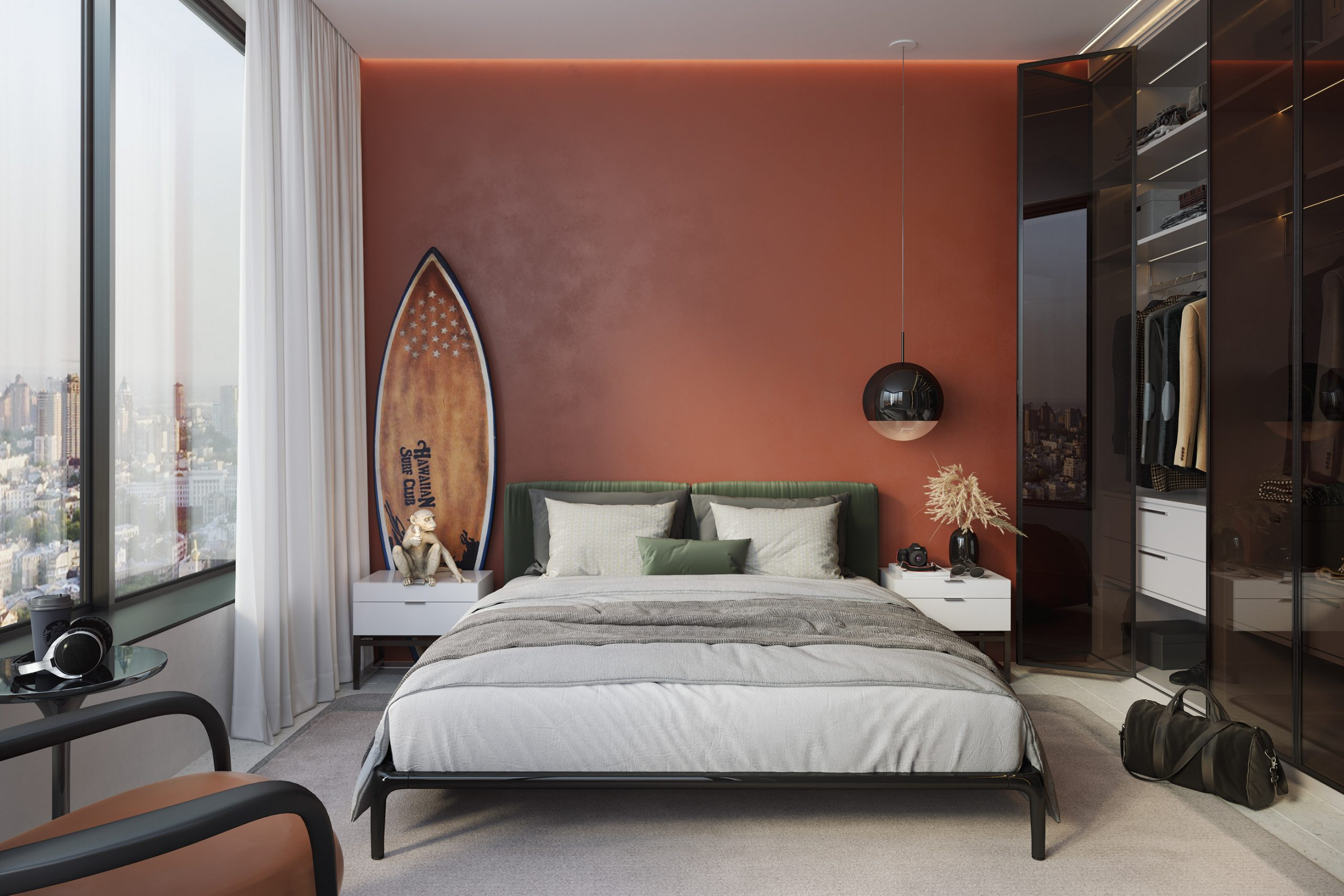 Nội thất căn hộ 3 phòng ngủ