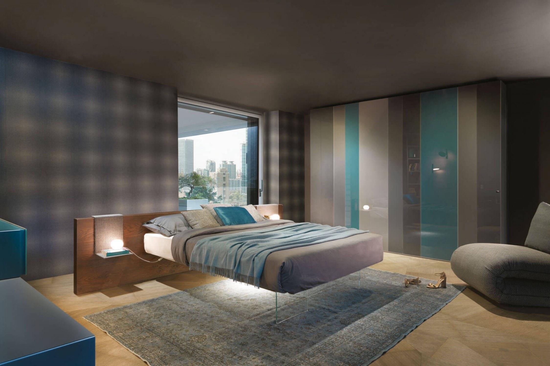 """Mẫu thiết kế phòng ngủ này khiến ai nấy đều rất thích thú với chiếc giường như được """"tàng hình"""" trong khoảng không"""