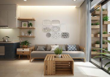 Trang trí nội thất chung cư 60m2