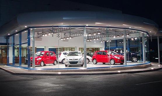 Thiết kế nội thất showroom ô tô
