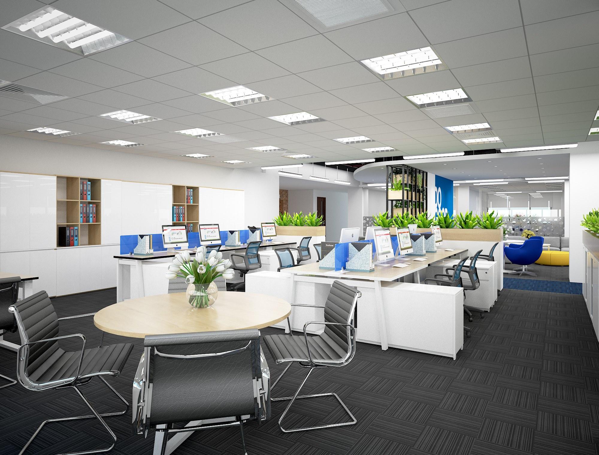Thiết kế văn phòng mở