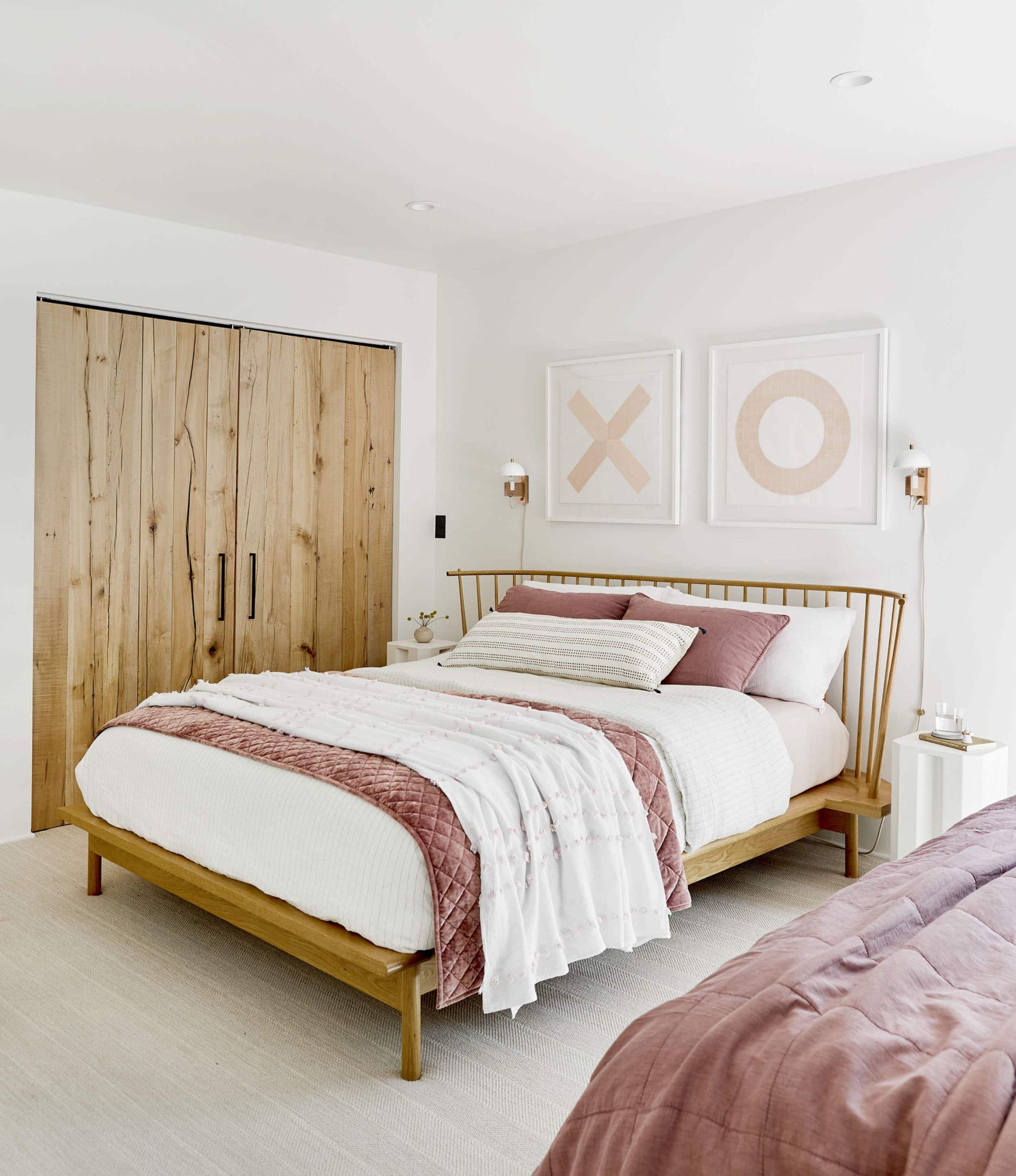 Nội thất phòng ngủ bằng gỗ