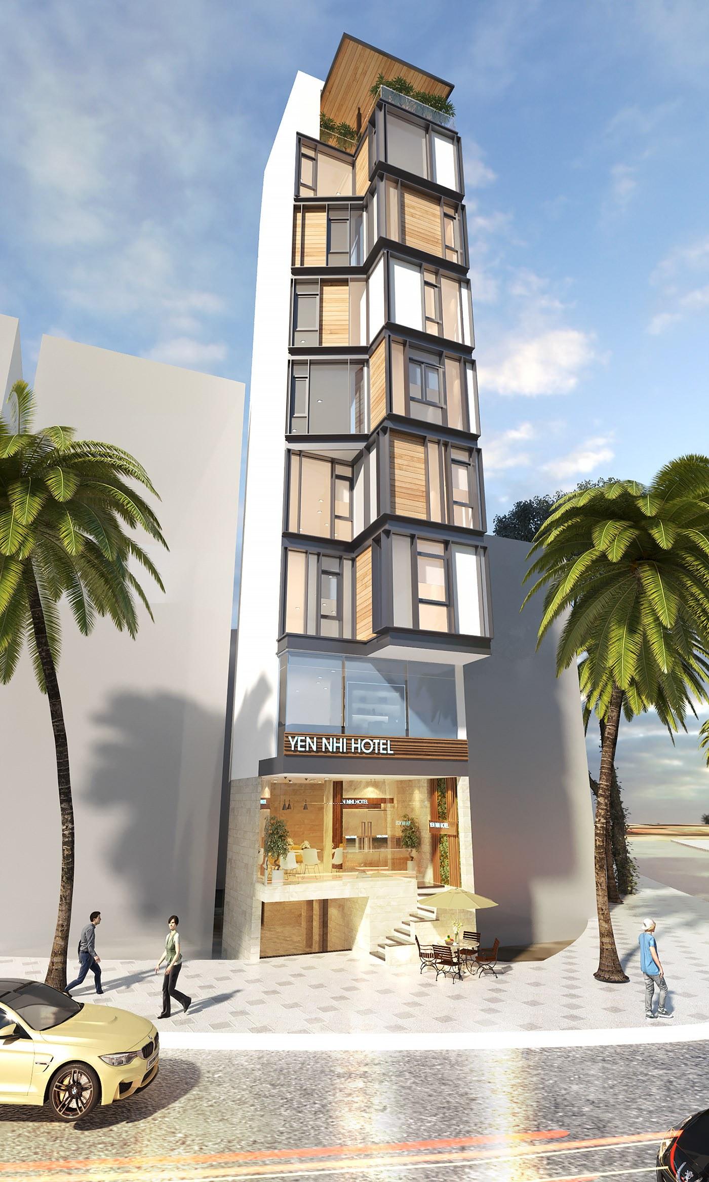 Bí quyết thiết kế nội thất khách sạn mini
