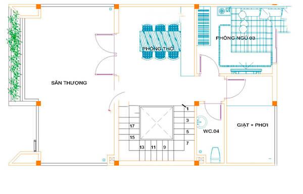 Mẫu thiết kế nội thất biệt thự tân cổ điển 150m2