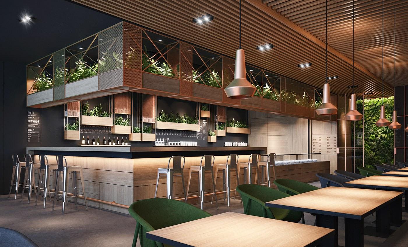 Mẫu thiết kế quán cafe có diện tích nhỏ