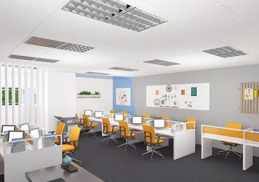 Mẫu thiết kế văn phòng 60m2