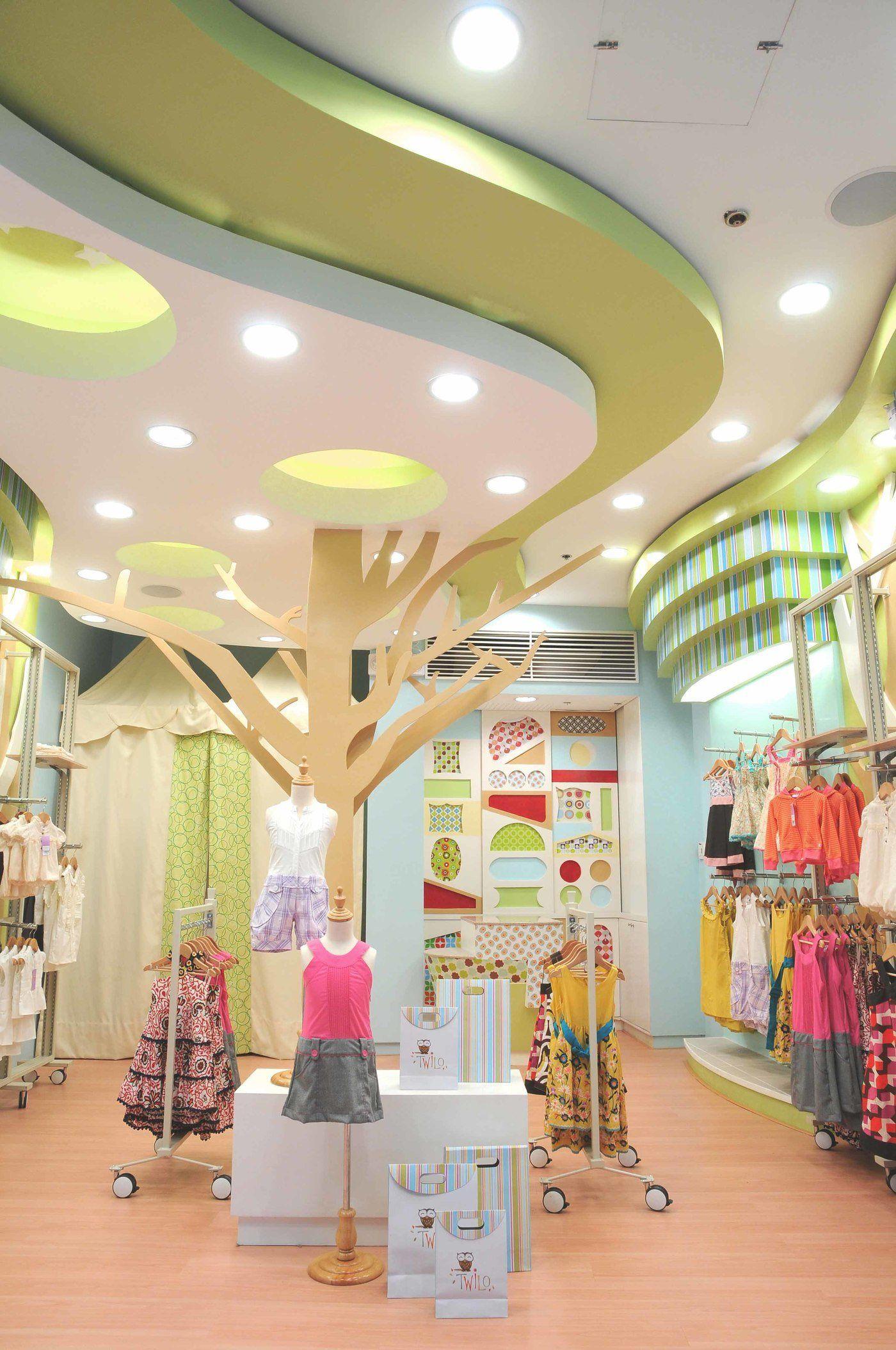 Thiết kế shop quần áo trẻ em