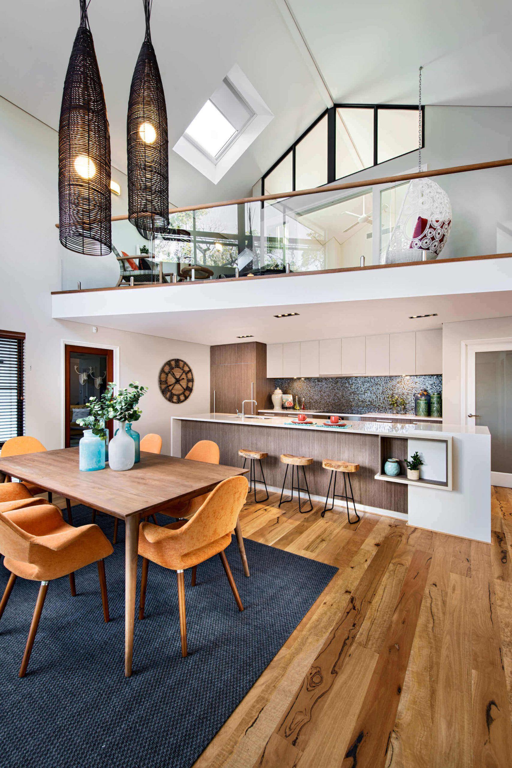Thiết kế tầng lửng làm phòng khách