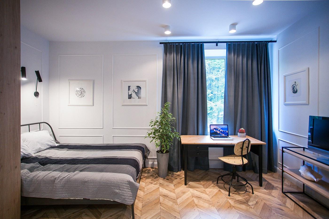 Nội thất căn hộ Studio