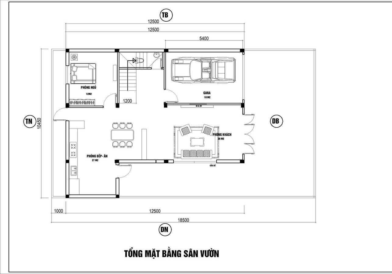 Mẫu biệt thự đẹp 3 tầng mái thái hiện đại tại Hải Phòng - Ảnh 4