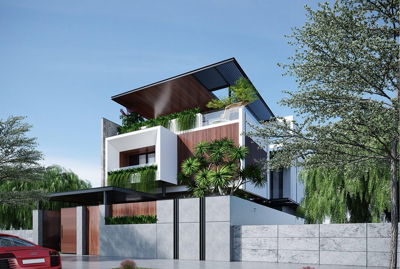 Mẫu biệt thự đẹp 3 tầng mái thái hiện đại tại Ngô Quyền Hải Phòng Ảnh 2