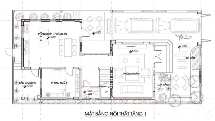 Mẫu biệt thự đẹp 3 tầng mái thái hiện đại tại Ngô Quyền Hải Phòng Ảnh 3