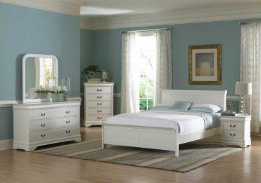 Mẫu nội thất phòng ngủ gỗ sồi nga