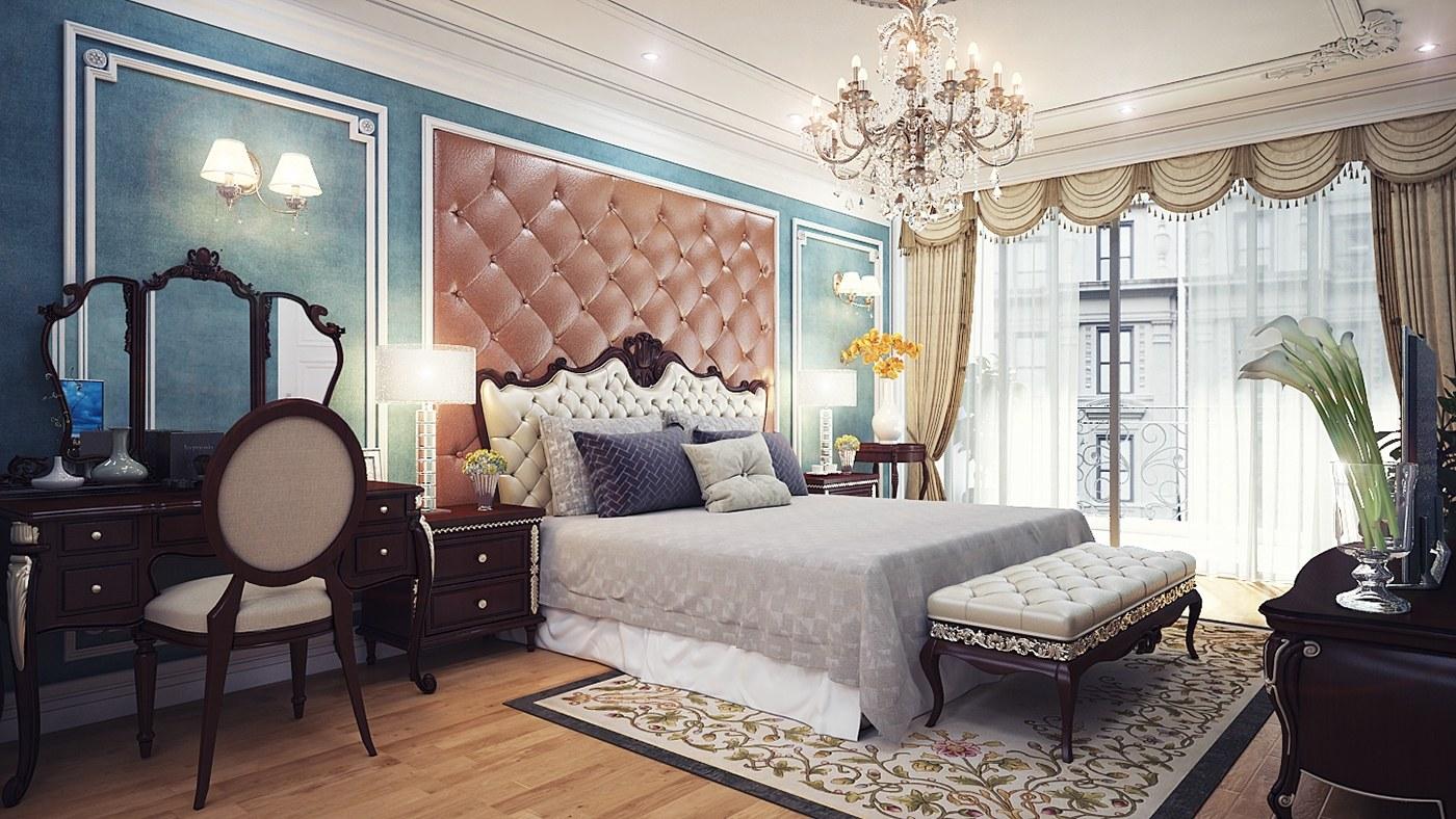 Mẫu thiết kế nội thất căn hộ cao cấp