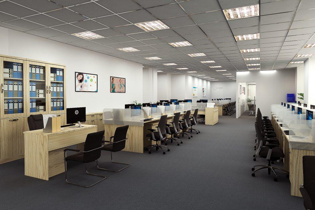 Nội thất văn phòng giá rẻ tại Hà Nội