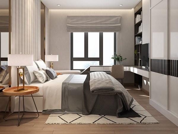 Mẫu nội thất căn hộ 2 phòng ngủ đẹp