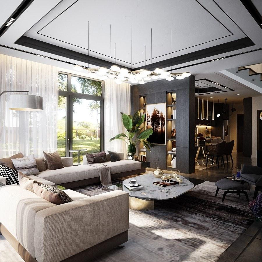 Mẫu thiết kế nội thất biệt thự 150m2