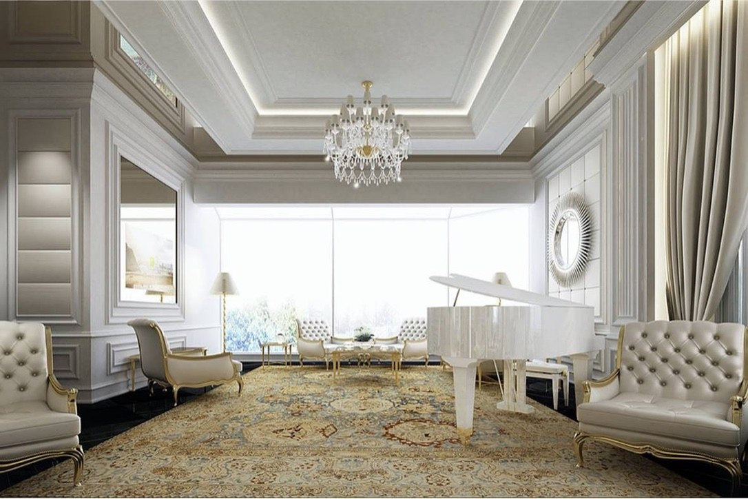 Mẫu thiết kế nội thất biệt thự tân cổ điển